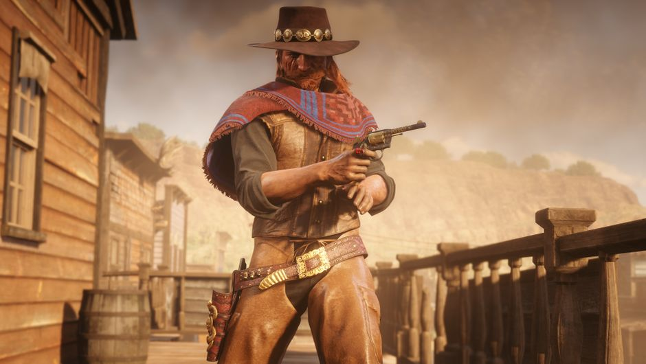 Red Dead Redemption 2 - Prieto Poncho