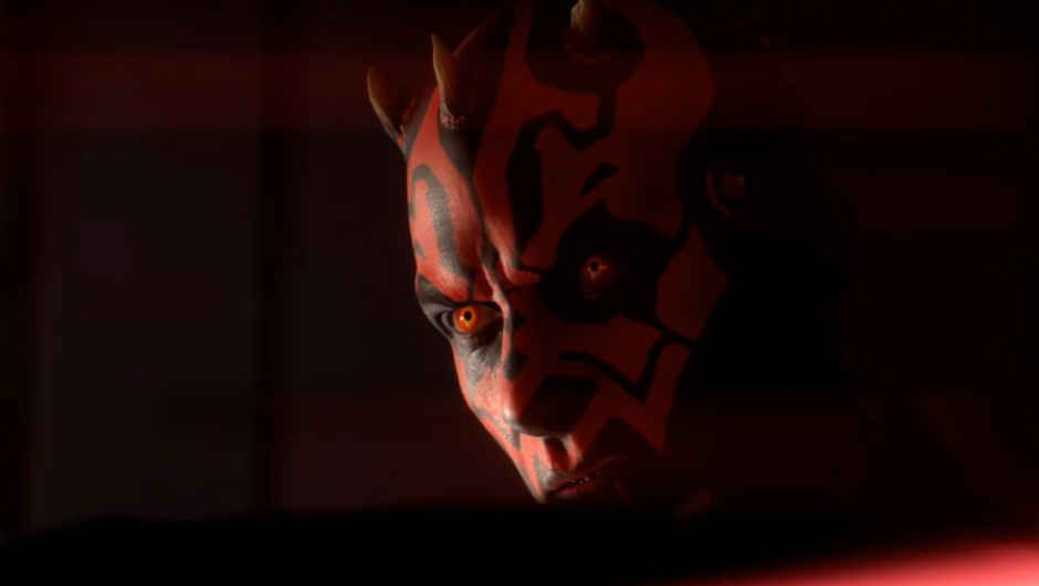 Image of Darth Maul from Star Wars: Battlefront II.