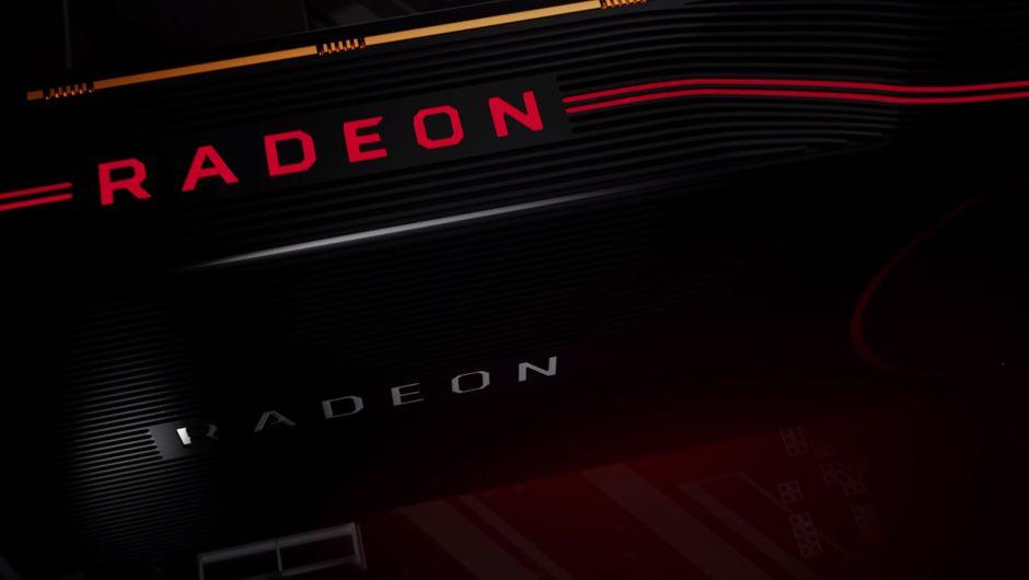 artwork showing AMD radeon gpu