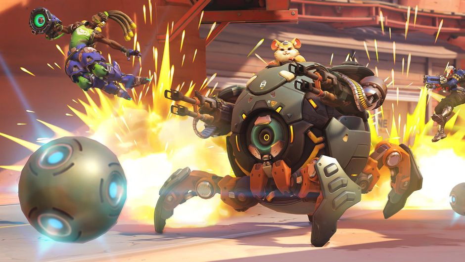 Wrecking Ball a.k.a. Hammond, last hero added to Overwatch