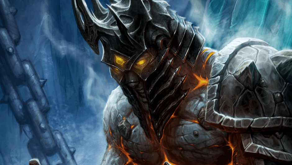 Bolvar Fordragon as the Lich King