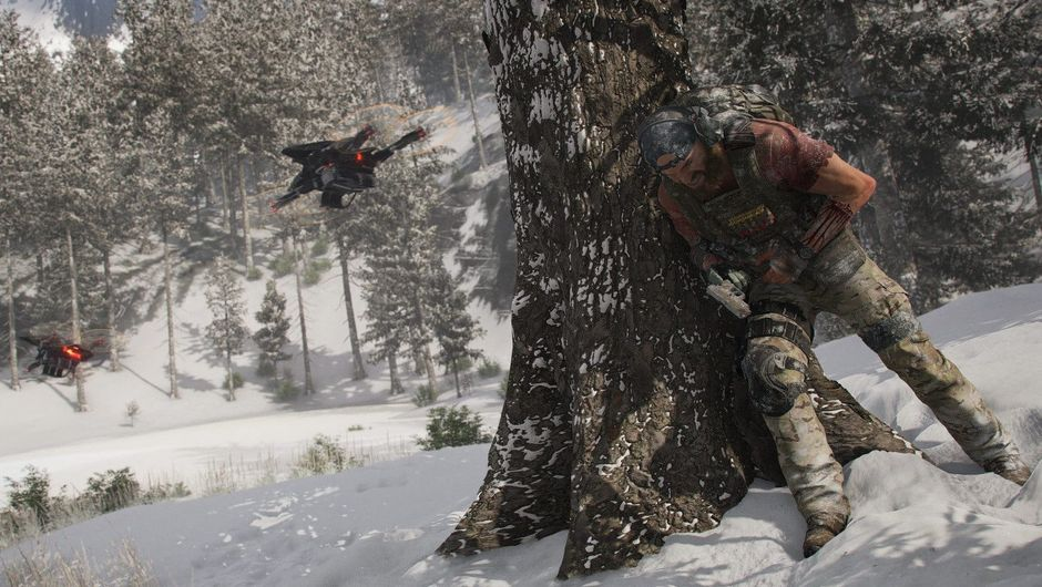 Picture of wounded Nomad in Ghost Recon Breakpoint