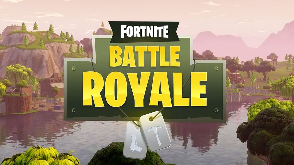 Poster for the game Fortnite Battle Royale