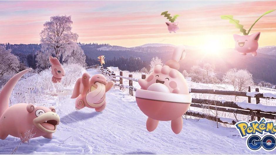 Pokemon Go - Valentine's Day 2020