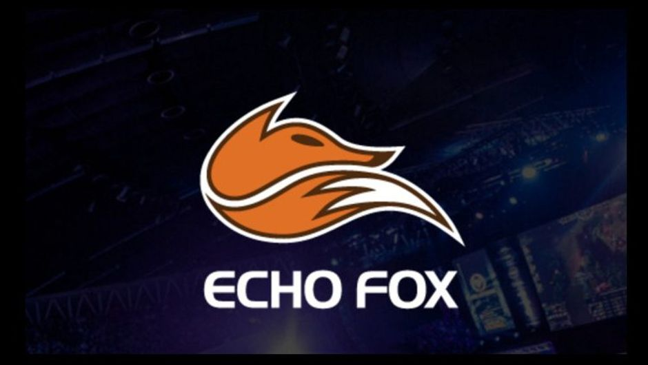 Picture of a logo of team Echo Fox, a professional LCS organisation