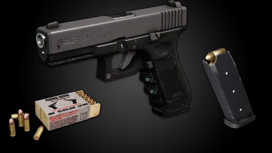SCUM's new weapon, Eder 22 pistol