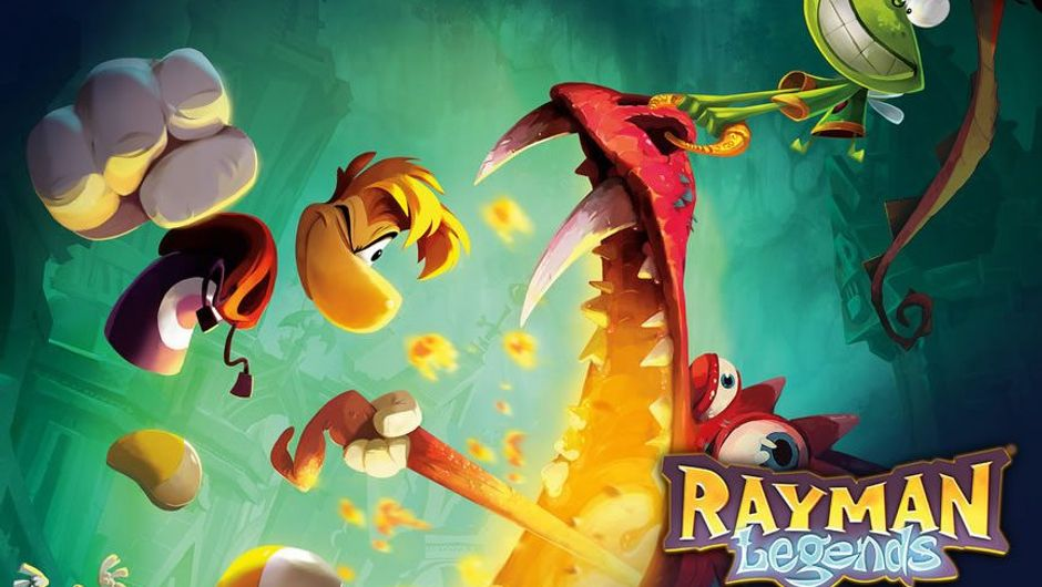 Cover for Ubisoft's platform game Rayman: Legends