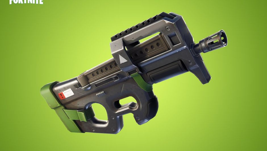 Fortnite Battle Royale's new weapon the Compact SMG