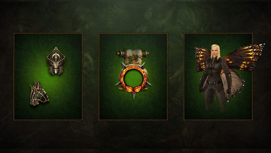 picture showing three items from Diablo 3