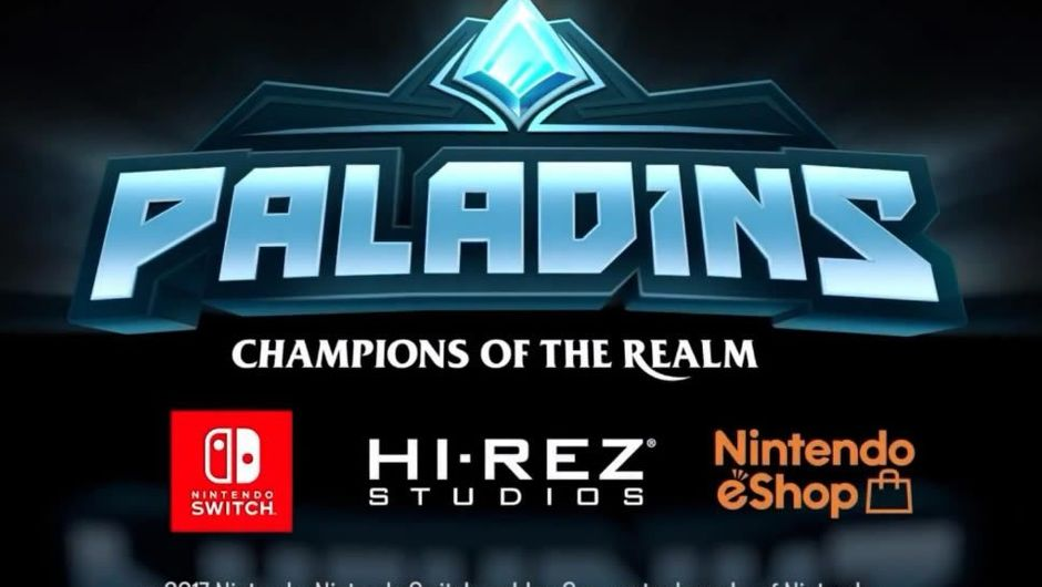 Screenshot showing the Switch announcement of Paladins
