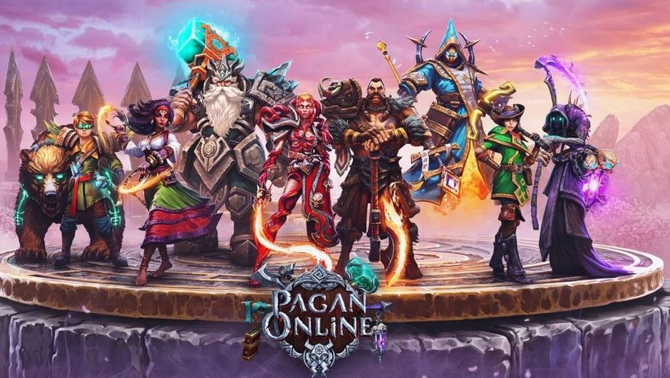 Promotional image for Pagan Online