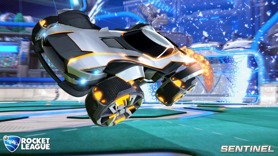 Rocket League Sentinel Battle-Car