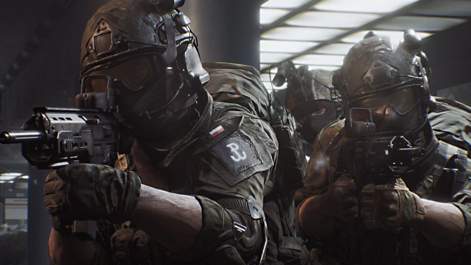 Picture of some soldiers in World War 3 game
