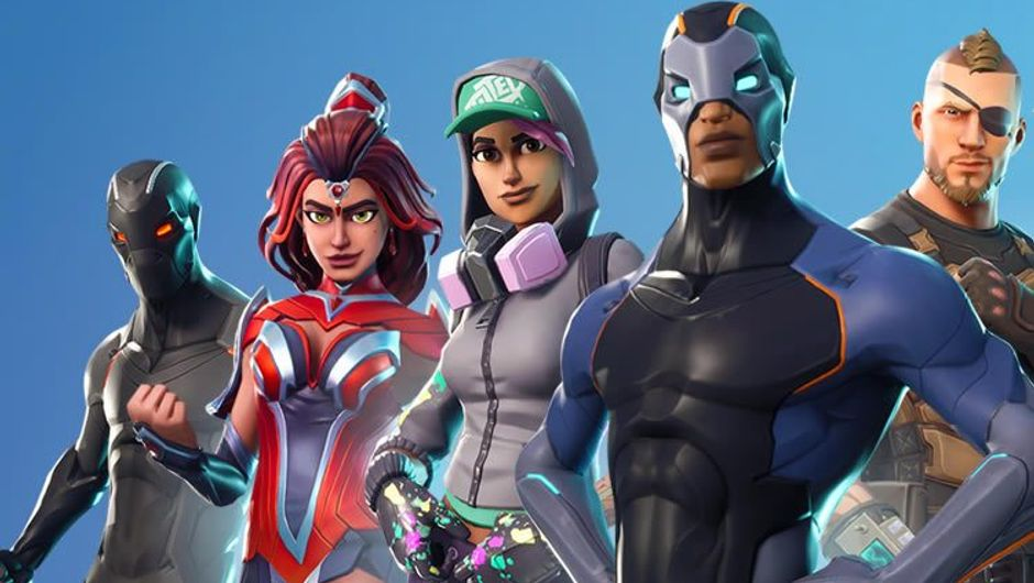 Four new characters from Season 4 of Epic's Fortnite