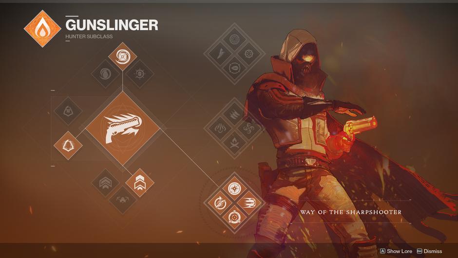 Destiny 2 - Sharpshooter subclass tree