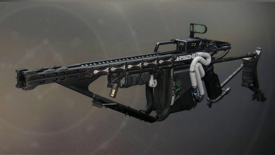 destiny 2 screenshot showing arbalest exotic gun