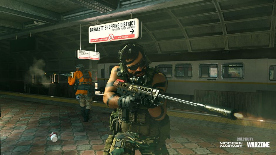 Call of Duty: Modern Warfare - Warzone's new subway system