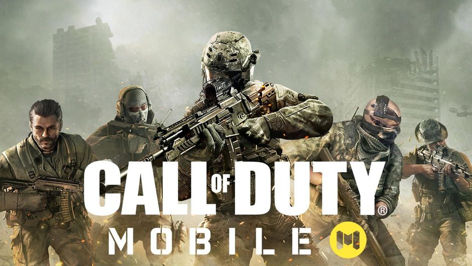 Several soldiers on a Call of Duty: Mobile poster