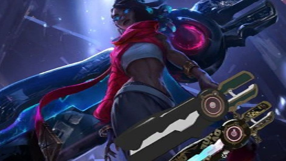 Picture of a leaked champion in League of Legends