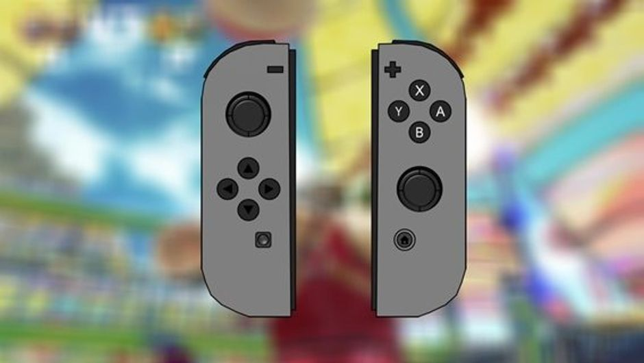 Grey Nintendo Switch JoyCons
