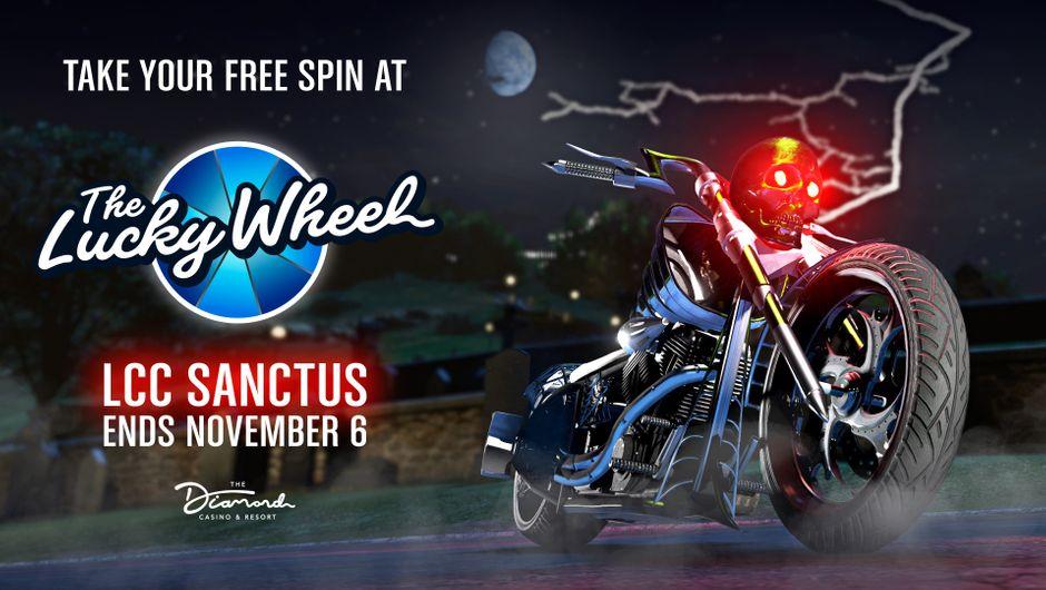 GTA Online - Lucky wheel LCC Sanctus