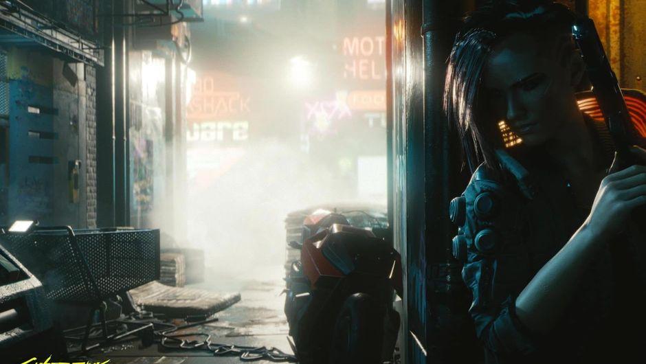 Female protagonist of Cyberpunk 2077