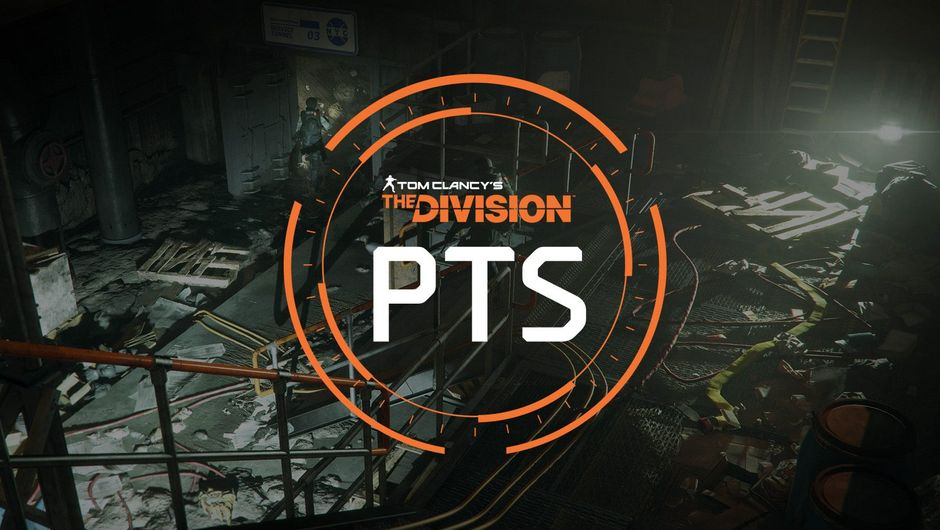 The Division PTS in white letters in an orange circle.
