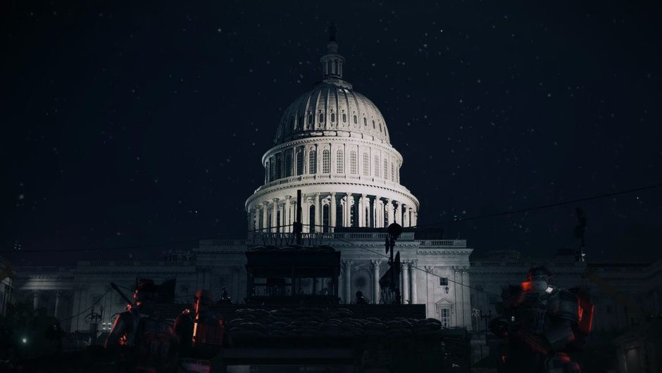 Picture of the Capitol Building in The Division 2
