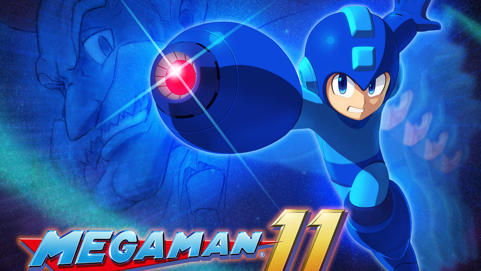 Key art showing Capcom's Mega Man