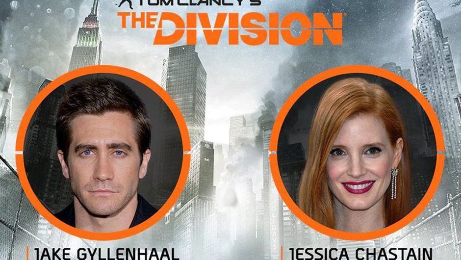 artwork showing actors from the division film
