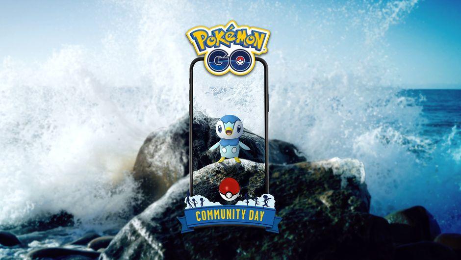 Pokemon GO's water-type Pokemon Piplup