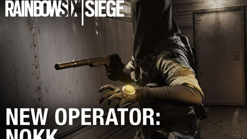 Promotional image for Nøkk, a new operator in Rainbow Six Siege