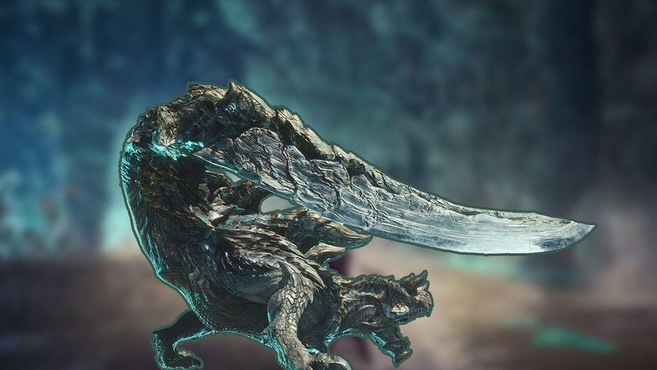 artwork showing Acidic Glavenus in MHW: Iceborne