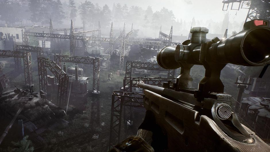 A player is camping above some freakshow area in Fear the Wolves