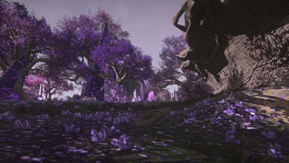 Screenshot of Oshur, Planetside 2's new island map