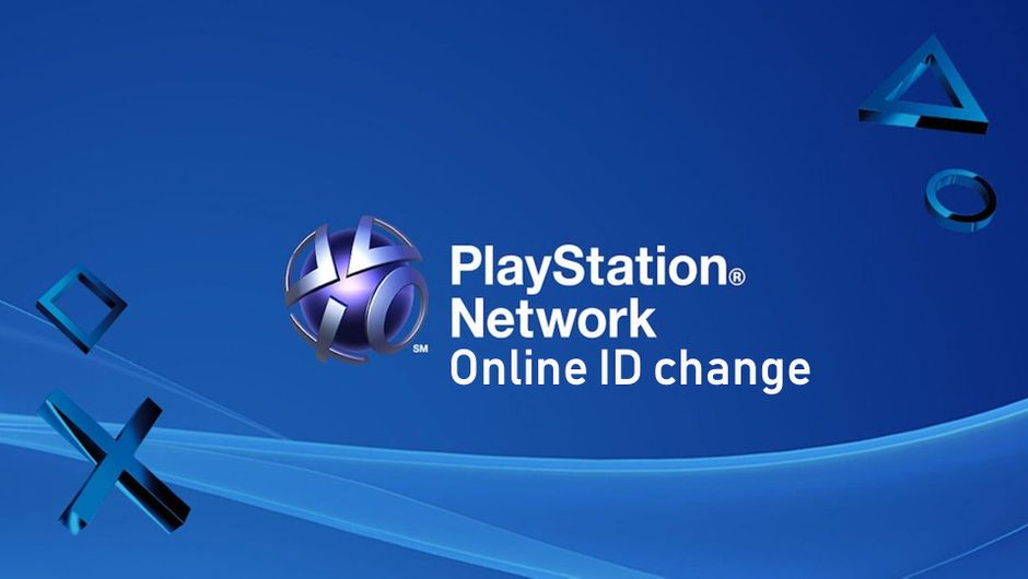 PlayStation Network logo on a blue background with white text on the right.