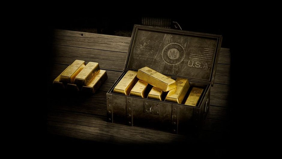 picture showing gold bars