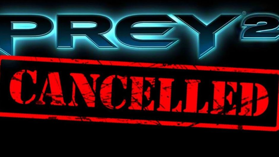 Logo of prey 2 cancelled