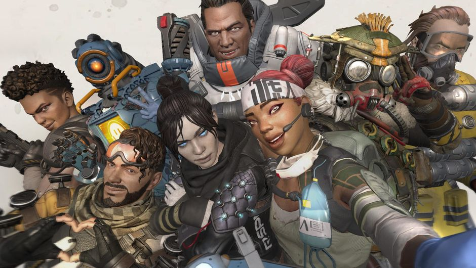 Picture of the Legends from Apex Legends