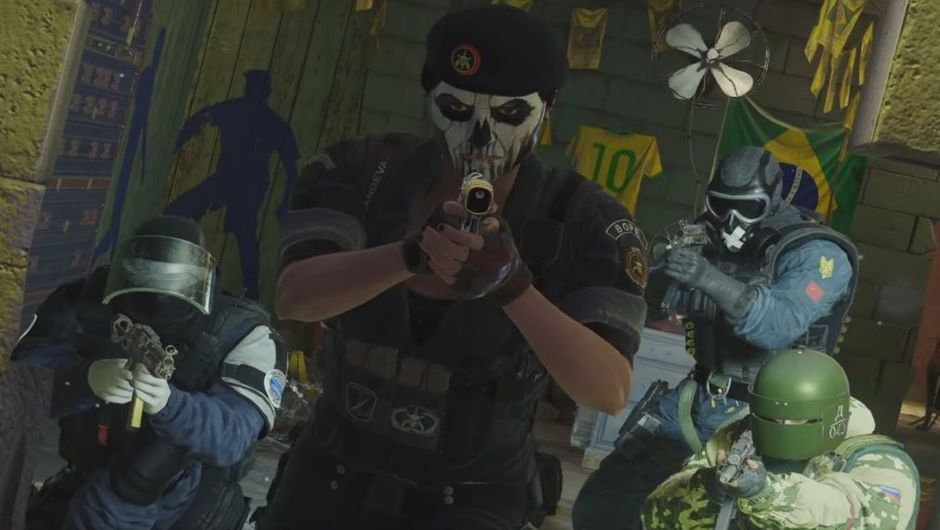 Picture of Caveira, Mute, Doc and Tachanka