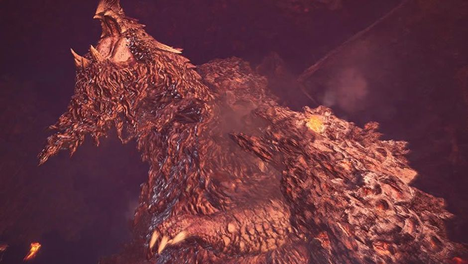 Arch-tempered Zorah Magdaros, creature from Monster Hunter: World