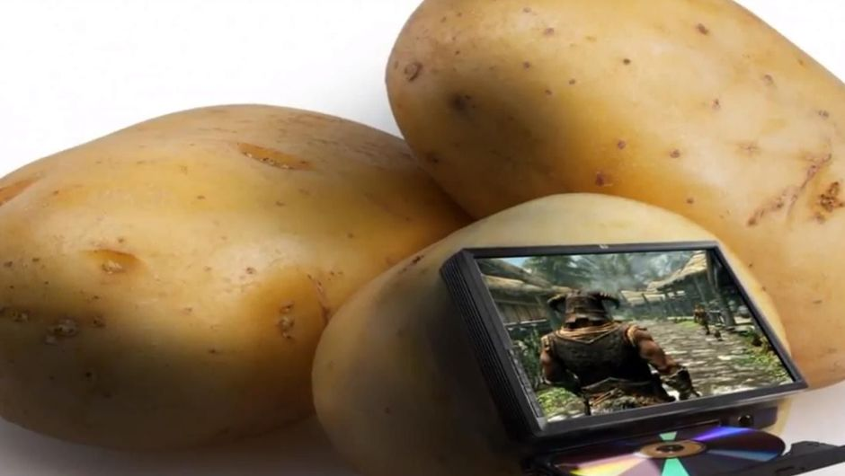 Potatoes with skyrim