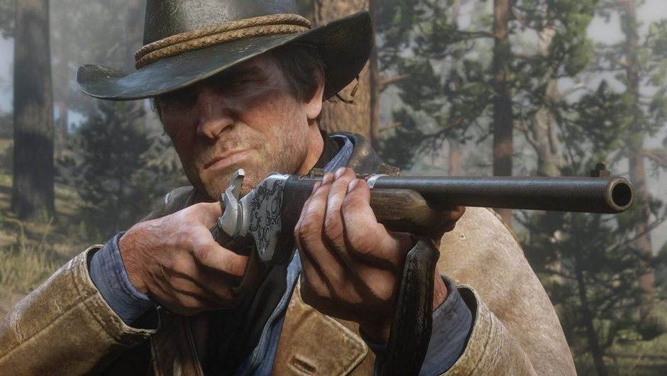 picture showing arthur morgan in rdr2