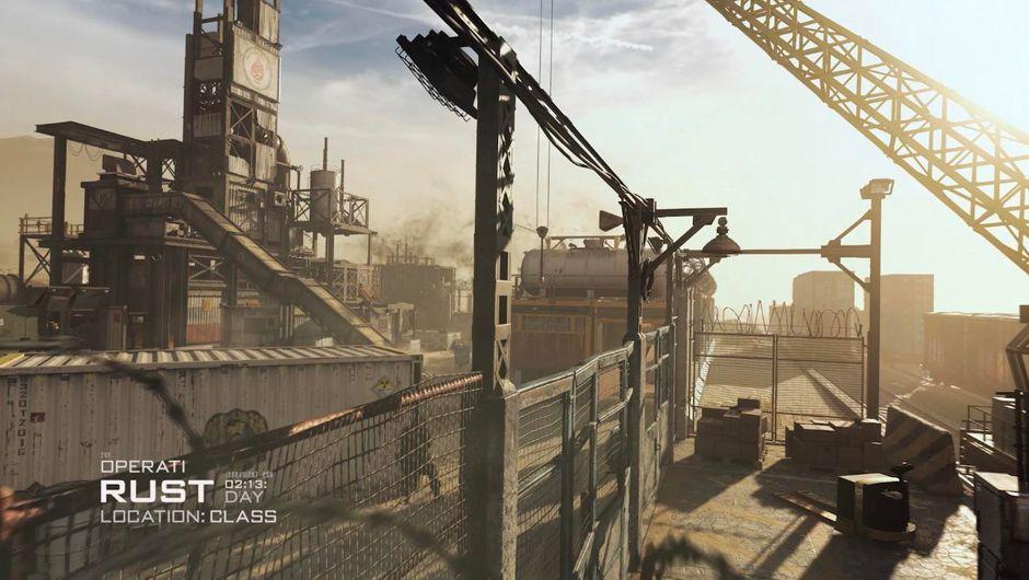 rust map in call of duty modern warfare