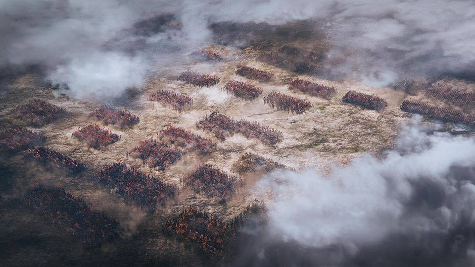 Medieval Chinese ground troups from Total War: Three Kingdoms