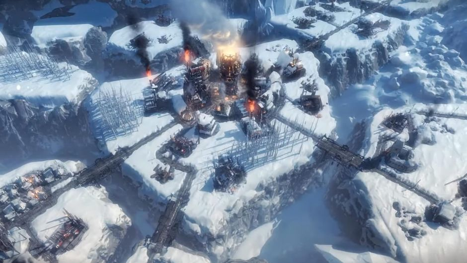 Frostpunk The Rifts expansion's map