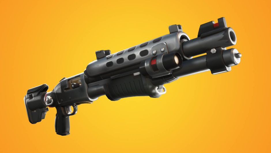 artwork showing tactical shotgun from fortnite