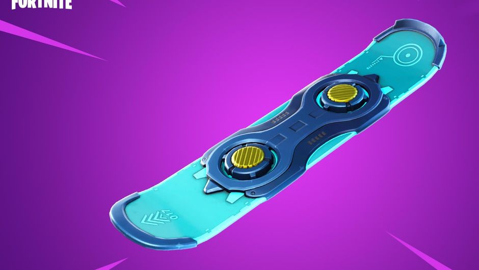 Fortnite's newly added 'vehicle' - the drift board