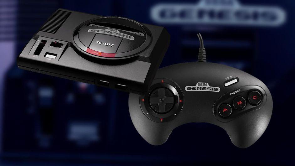 Sega Genesis Mini and its controller