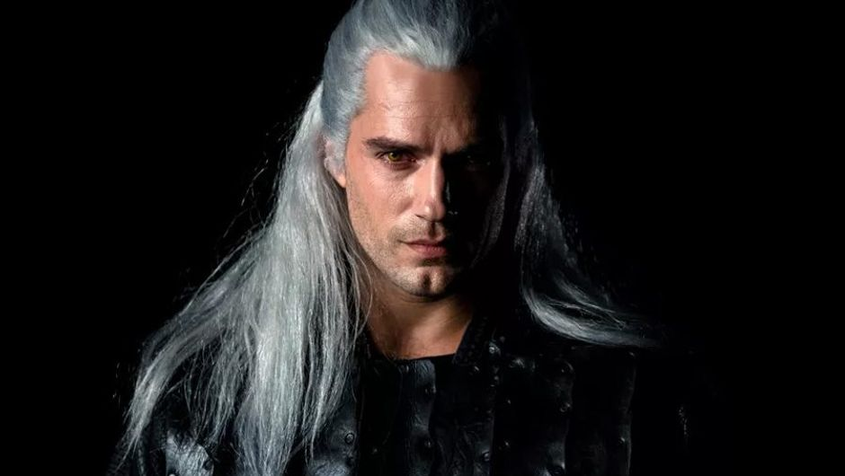 picture showing actor Henry Caville acting as Geralt in The Witcher Series